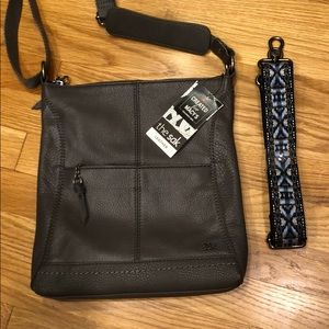 Leather purse, new with tags, the Sak.